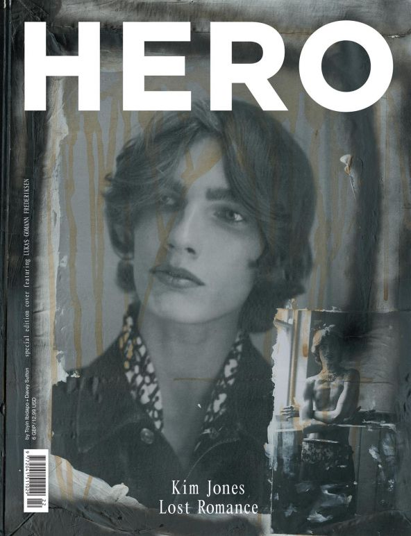 HERO 22 – Kim Jones cover featuring Lucas