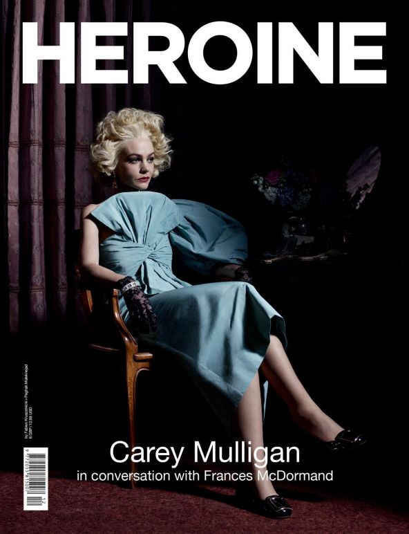 HEROINE 12 – Carey Mulligan, Givenchy cover
