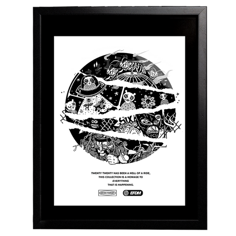 Numbered and Signed Framed Print (1/15)