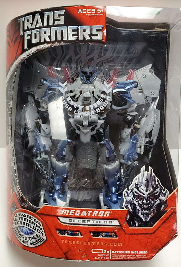 Transformers 2007 Megatron Leader Class Sealed - collectablekingdom