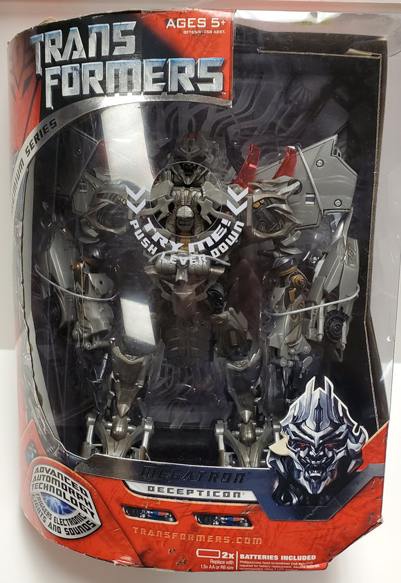 Transformers Premium Series Megatron Leader Class Sealed - collectablekingdom
