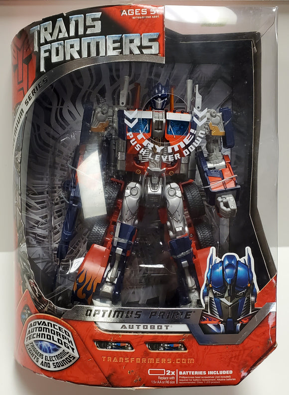 Transformers Premium Series Optimus Prime Leader Class Sealed - collectablekingdom
