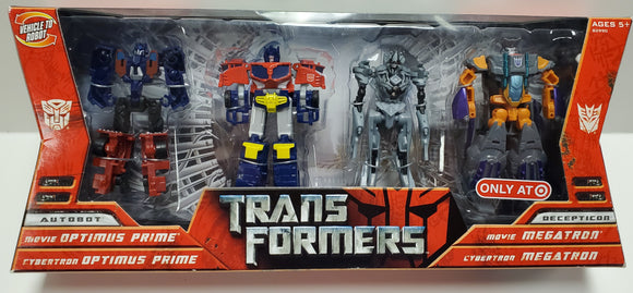 Transformers Legends 4 pack Target Exclusive Sealed - collectablekingdom