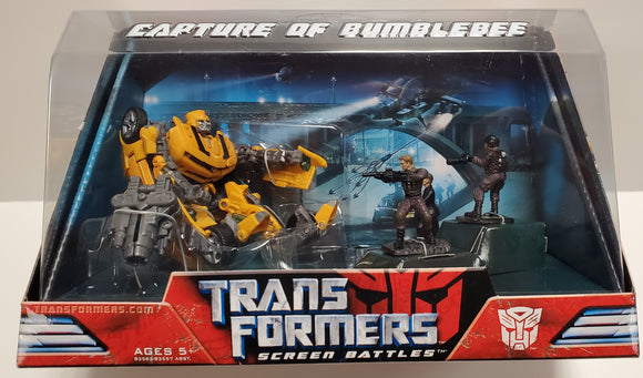 Transformers Capture of Bumblebee Screen Battles Sealed - collectablekingdom