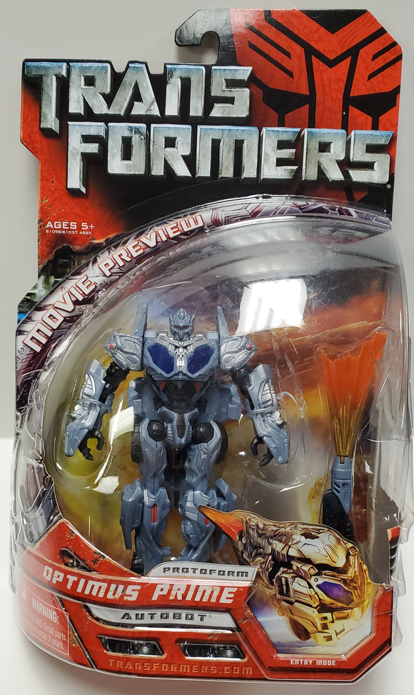 Transformers Protoform Optimus Prime Sealed - collectablekingdom