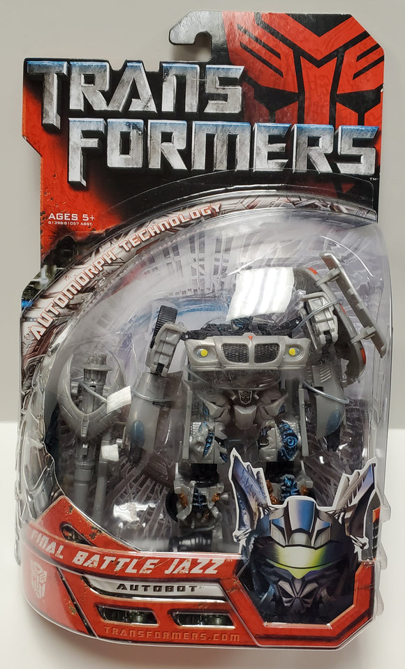 Transformers Final Battle Jazz Sealed - collectablekingdom