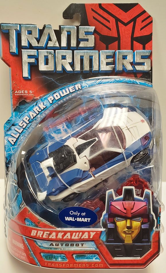 Transformers Walmart Exclusive Breakaway Sealed - collectablekingdom