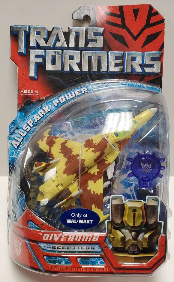 Transformers Walmart Exclusive Divebomb Sealed - collectablekingdom