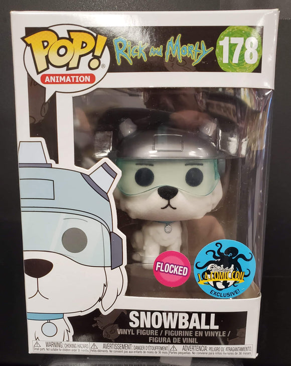 POP! Rick and Marty Snowball #178