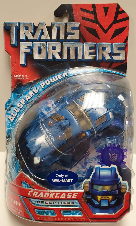 Transformers Walmart Exclusive Crankcase Sealed - collectablekingdom