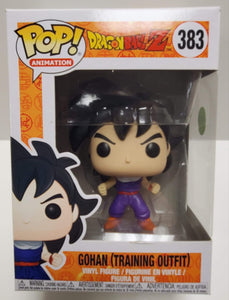 POP! Dragon Ball Z Gohan (Training Outfit) #383