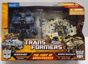 Transformers Hunt For The Decepticons Walmart Exclusive The Fury Of Bonecrusher Ironhide vs Bonecrusher