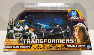 Transformers Hunt For The Decepticons Human Alliance Sideswipe & Mikaela Banes