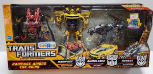 Transformers Hunt For The Decepticons Rampage Among The Ruins Rampage Bumblebee Ravage