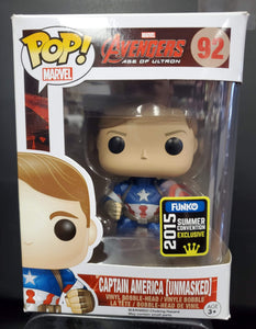 POP! Marvel Avengers Captain America (unmasked)  #92