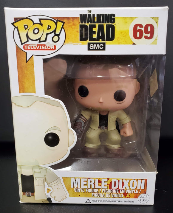 POP! The Walking Dead Merle Dixon #69