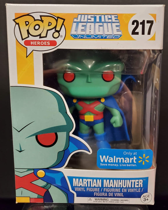 POP! Justice League Martian Manhunter #217