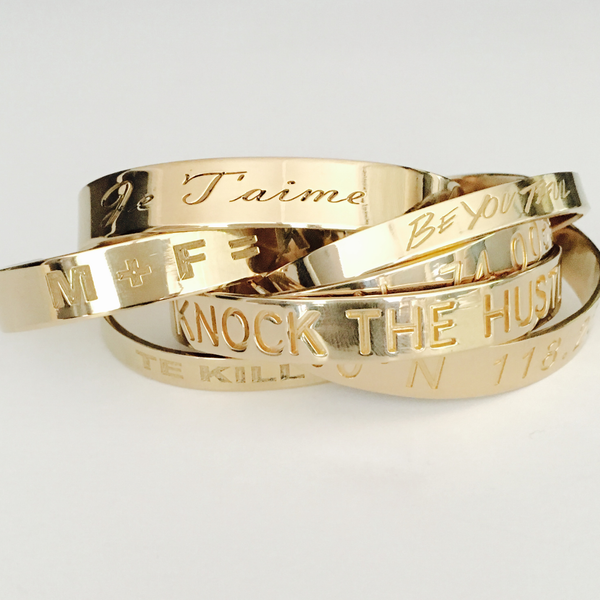 Personalized Cuffs