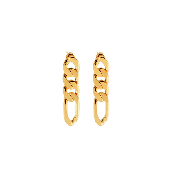 Figaro Chain Link Earrings