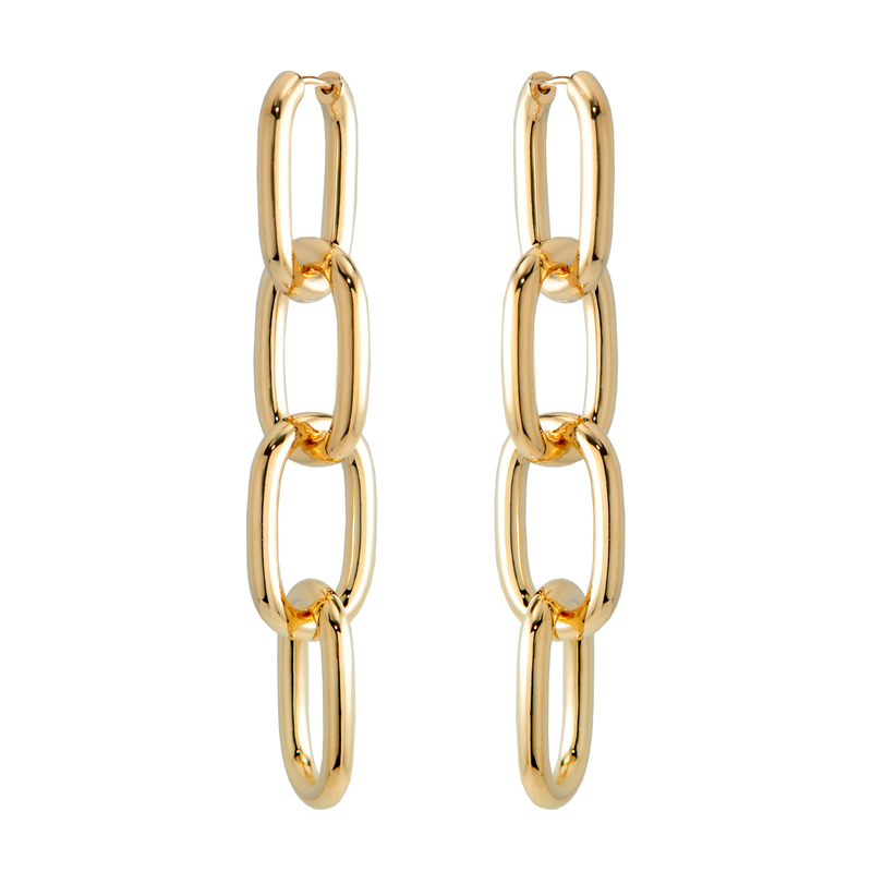 Kayla Chain Link Earrings