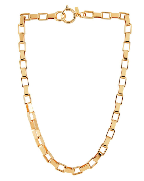 Boxer Chain Link Necklace