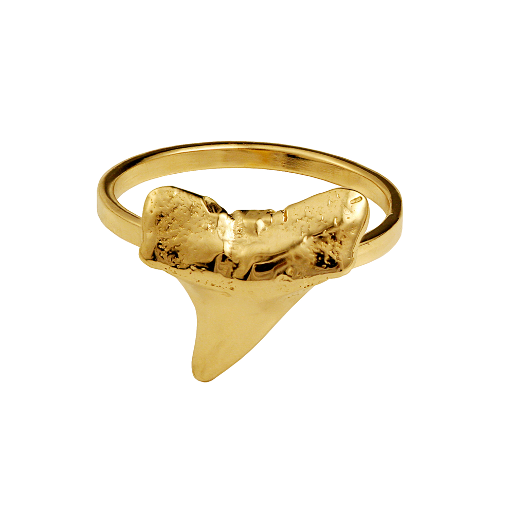 Shark Tooth Mid Ring