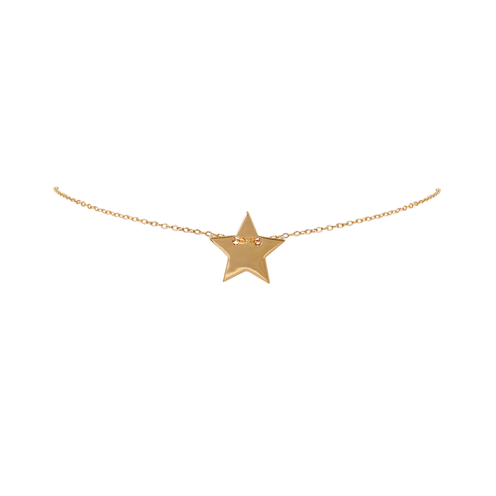 star choker, super star choker, star necklace