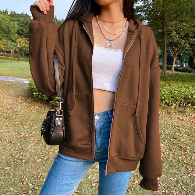 Brown Fashion Sweater