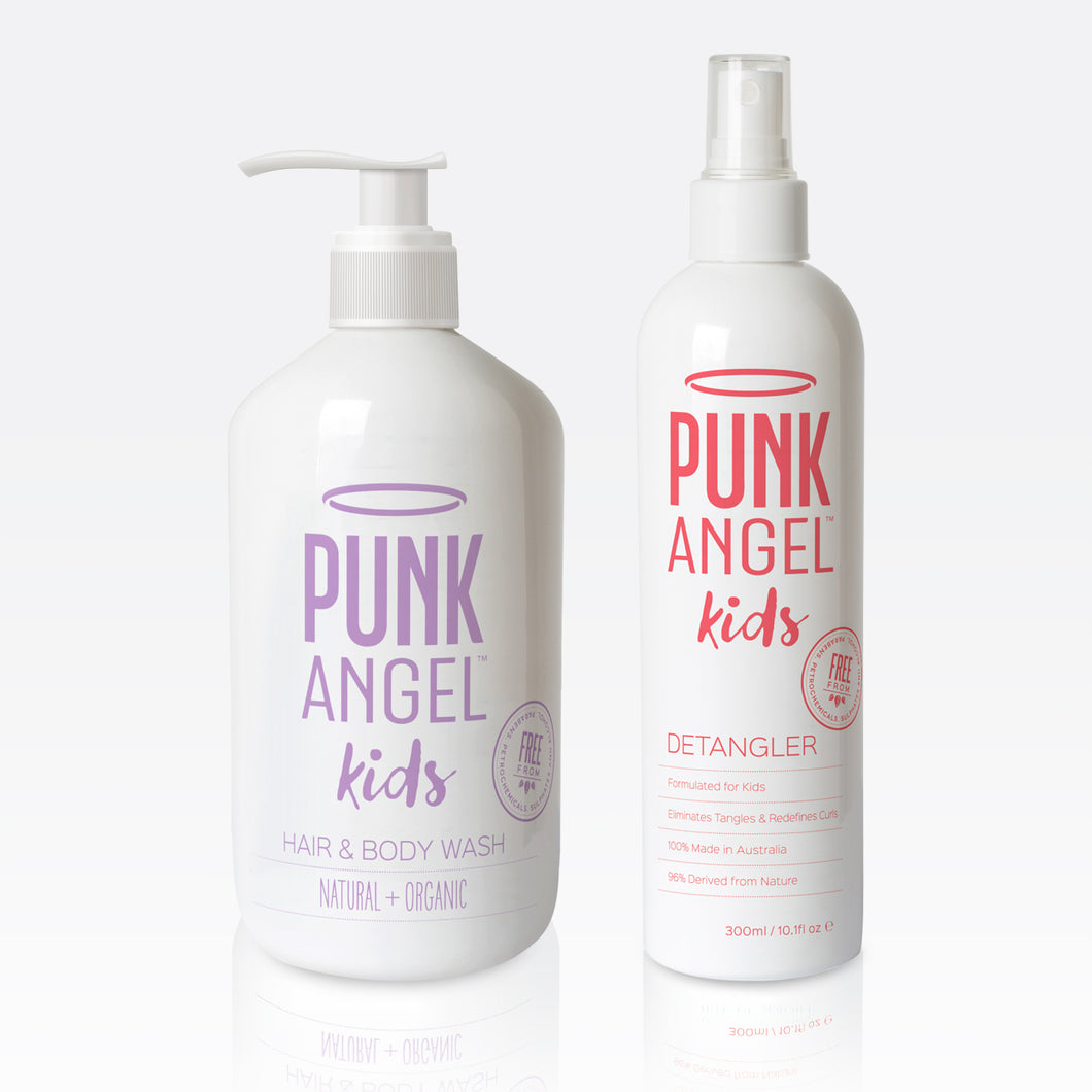 Twin Pack – All-In-One Hair & Body Wash + Detangler