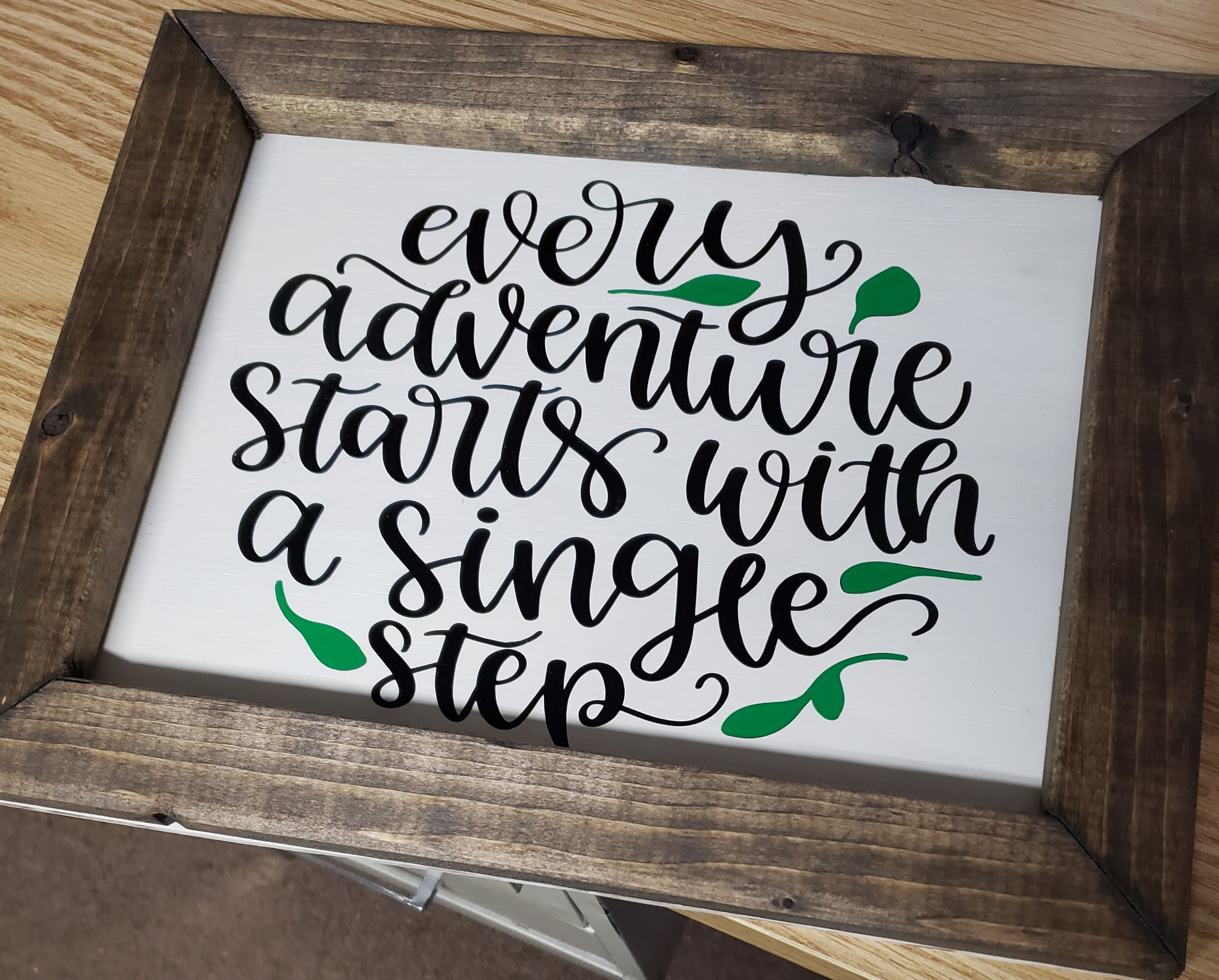 Every adventure starts with a single step