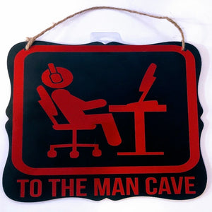 Gamer Man Cave Sign