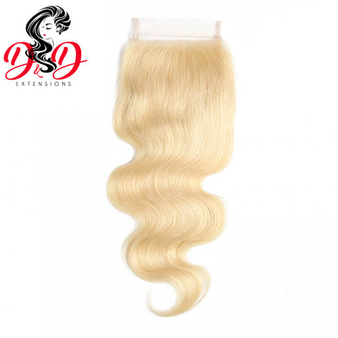 Platinum Blonde BodyWave Closure