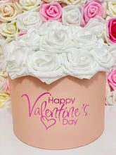 Load image into Gallery viewer, Happy Valentine's Rose Hat Box