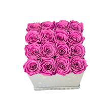 Load image into Gallery viewer, Large Square Preserved Flower Box