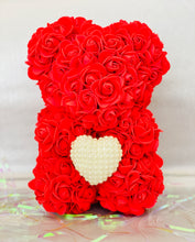 Load image into Gallery viewer, Red Rose Bear
