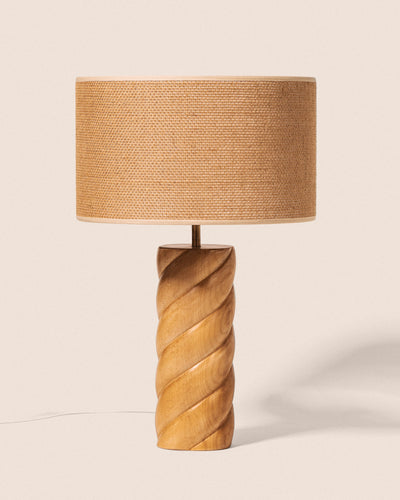 Lampe - Érable & Jute, Mallow, Goodmoods Éditions.