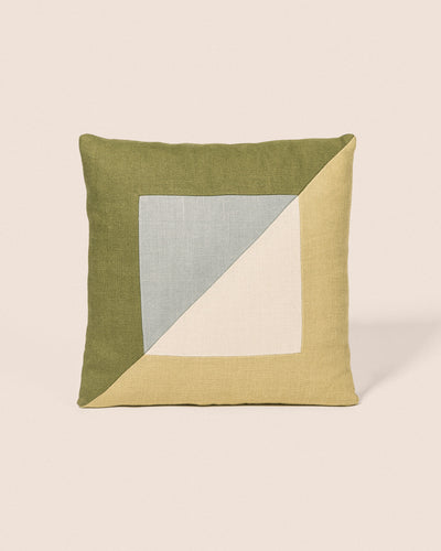Coussin Diagonal - Ciel & Olive, Playground, Goodmoods Éditions.