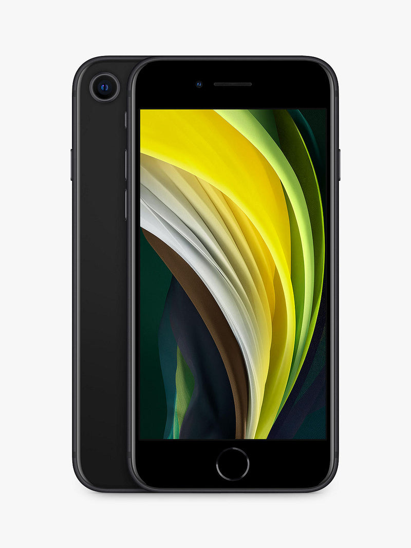 "Apple iPhone SE, iOS 13, 4.7"", 4G LTE, Vodafone, 64GB, Black"