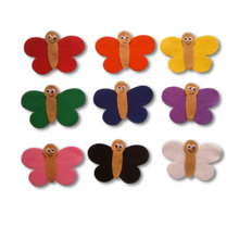 Load image into Gallery viewer, Butterfly Wing Colour Matching Felt Set