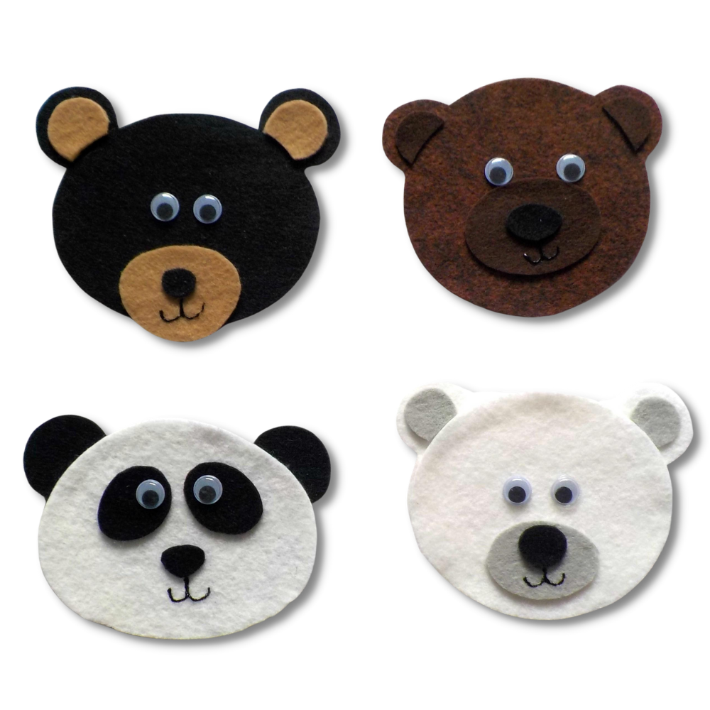 All Kinds of Bears Set Pattern
