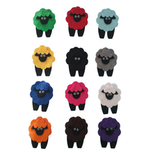 Load image into Gallery viewer, Mary had a Coloured Lamb Felt Set Pattern