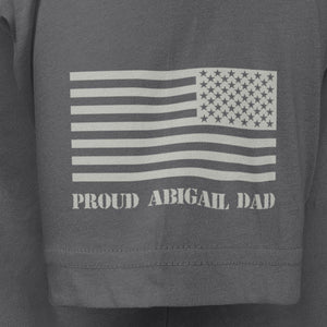 Dark Grey Dad Custom T-Shirt