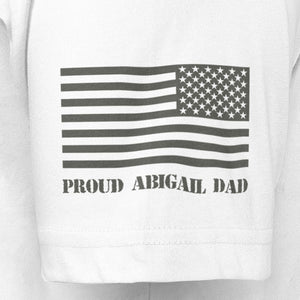 White Dad Custom T-Shirt