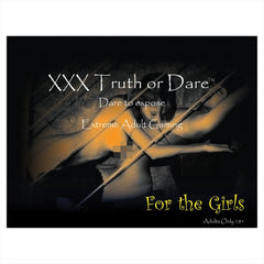 XXX Truth or Dare – Just for Girls Adult Board Game