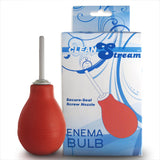 Clean Stream Anal Douche Enema Bulb Red