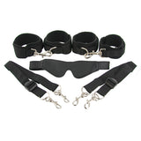 Frisky 7 Piece Beginner Restraint Kit Black