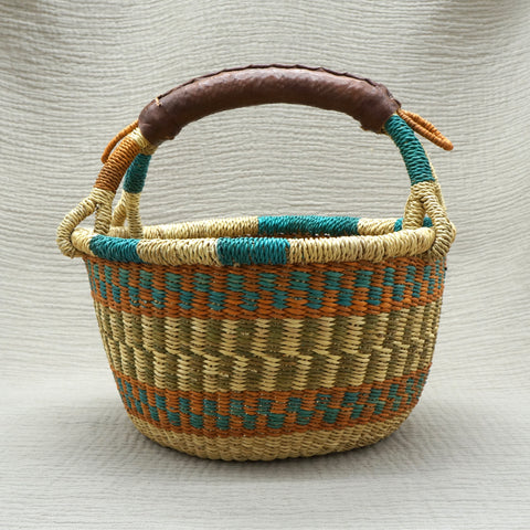 Bolgatanga Basket, Colourful (Small)