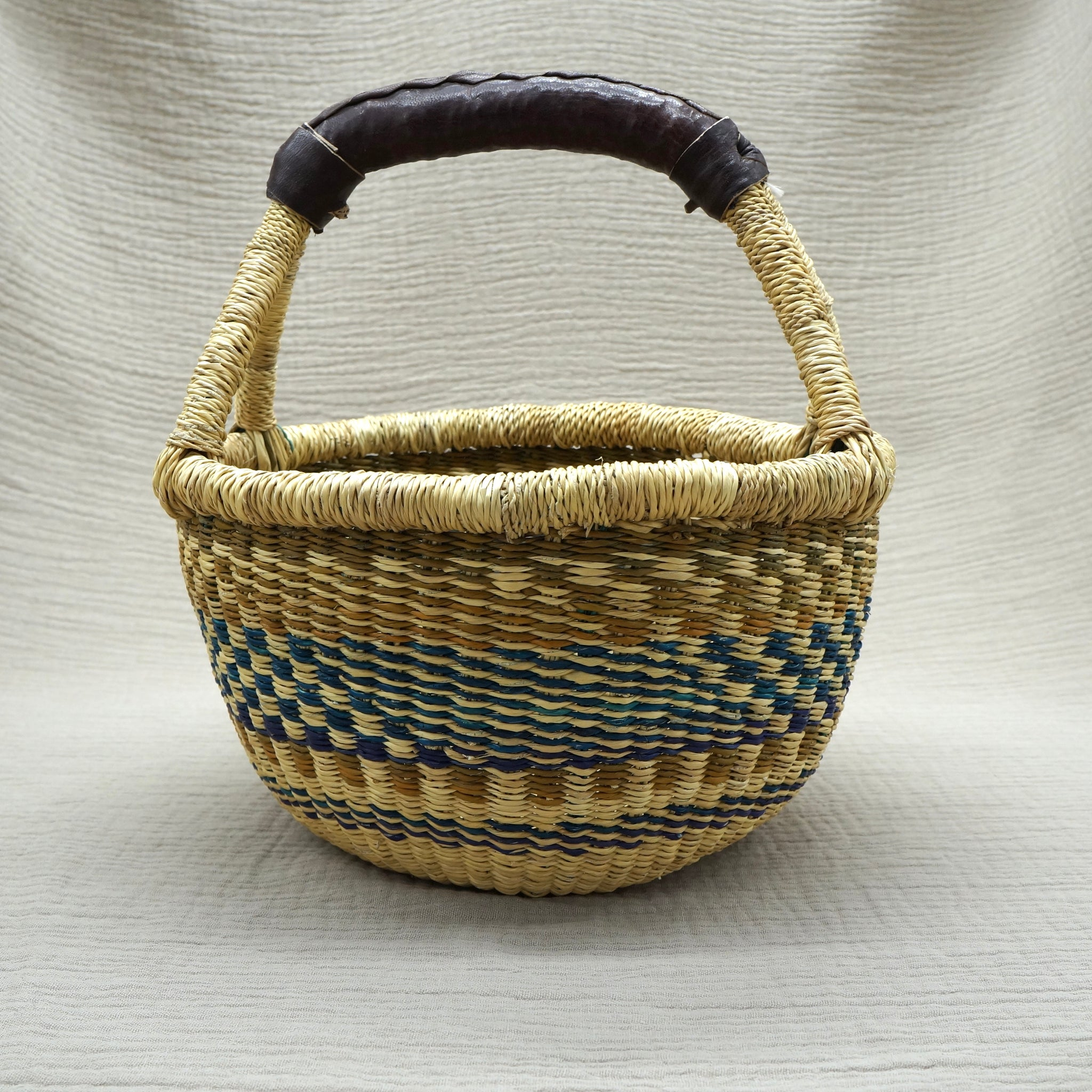 Bolgatanga Basket, Earthy (Small)