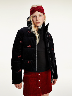 Blouson TOMMY JEANS TJW Critter cord puffa