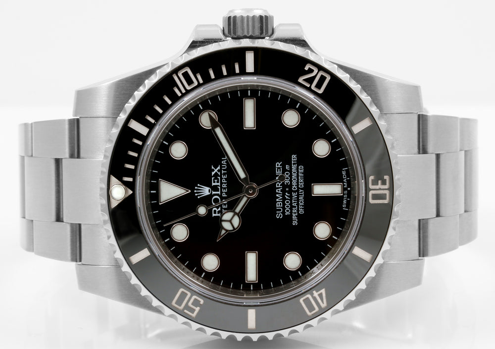 Load image into Gallery viewer, Rolex Non Date Submariner Ceramic Bezel - 114060